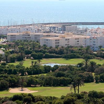 Almerimar golf course Almeria Spain