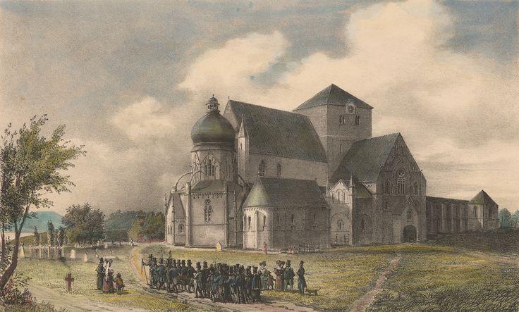 Trondheim, Norway in circa 1821
