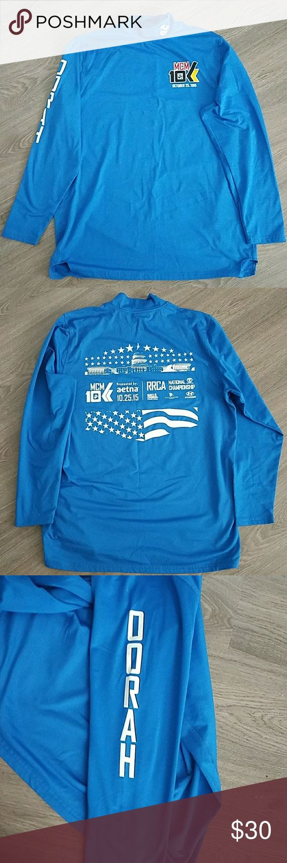 2015 MCM Shirts 2015 Marine Corps Marathon shirt. (Authentic) Only available yearly the day of the run in DC These shirts keep you cool & are warm! Unisex No tags are ever put on them. Shirts