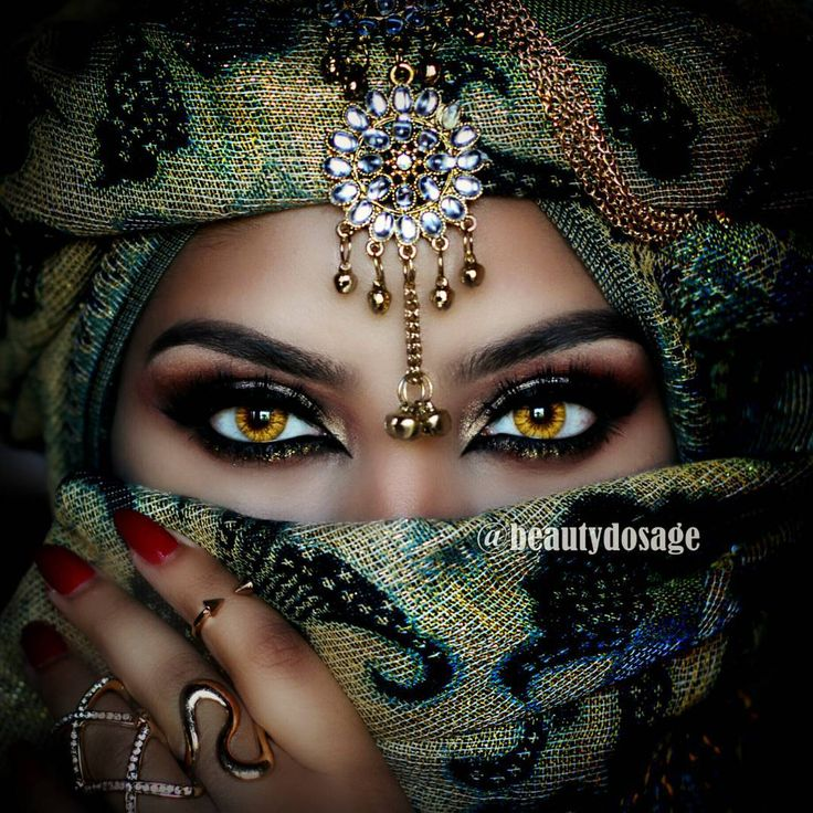 22 Best Middle Eastern Make Up Images On Pinterest