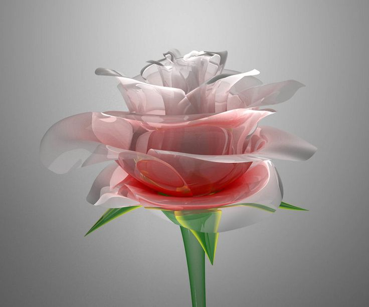 Crystal Rose ~ Android Wallpaper ~ via http://mobilezonegt ...
