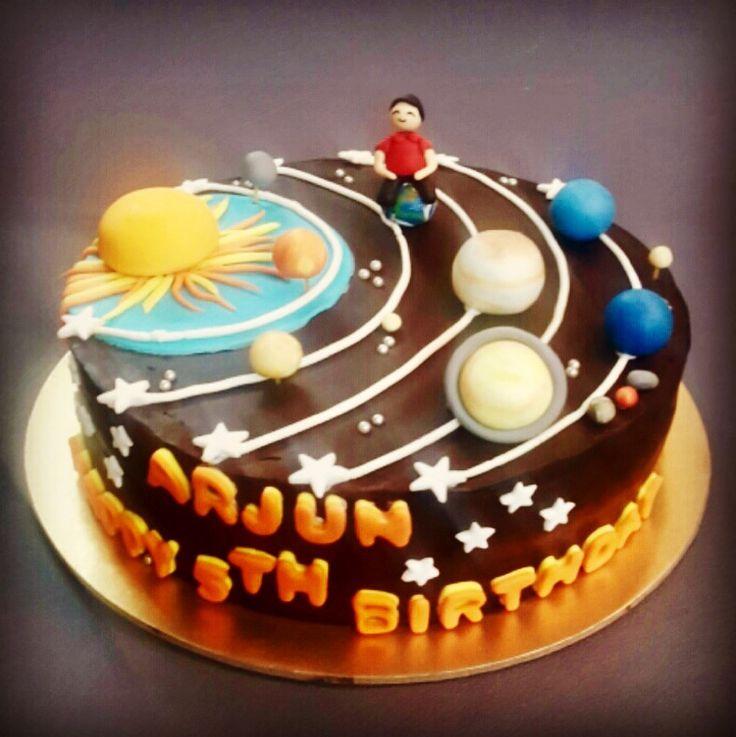 Galaxy cake. A galaxy of goodies......