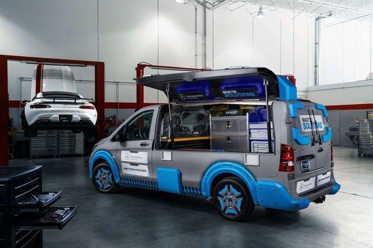 Mercedes-Benz Vito als Toolbox Concept | Autonieuws - AutoWeek.nl