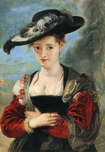 Peter Paul Rubens (1577–1640) Le chapeau de paille - v 1622/5 huile -79 x 54,6 cm  National Gallery - Londres
