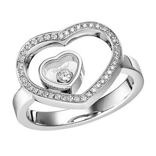 Chopard Happy Heart ring...similar to the one i found in London years ago but it's just too darn much!