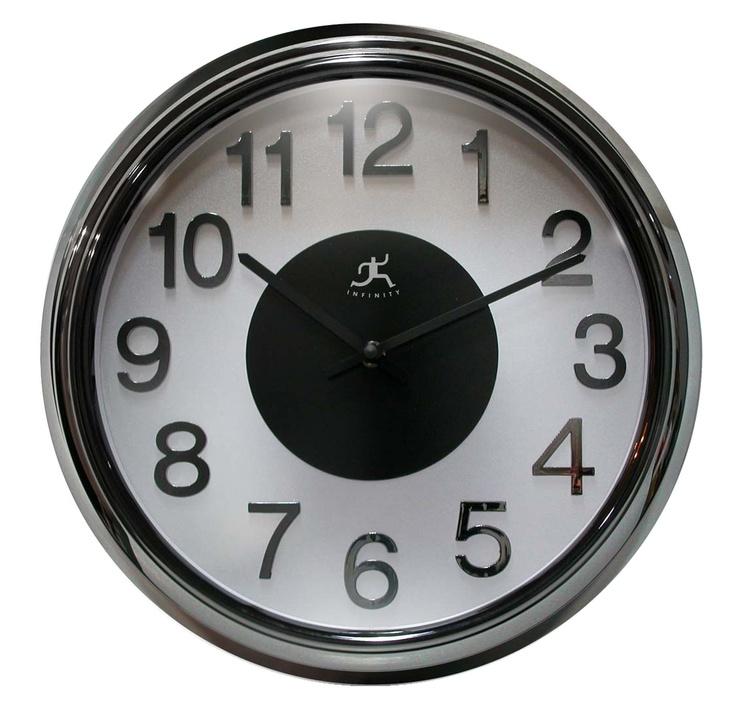 Elektric Kool Wall Clock By Infinity Instruments Metal