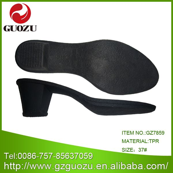 China TPR Rough Heel for Women Shoes - China Tpr Sole, Shoes Sole Tpr Material