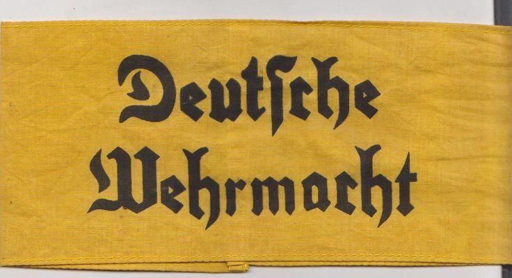 German WW2 Deutsche Wehrmacht Armband