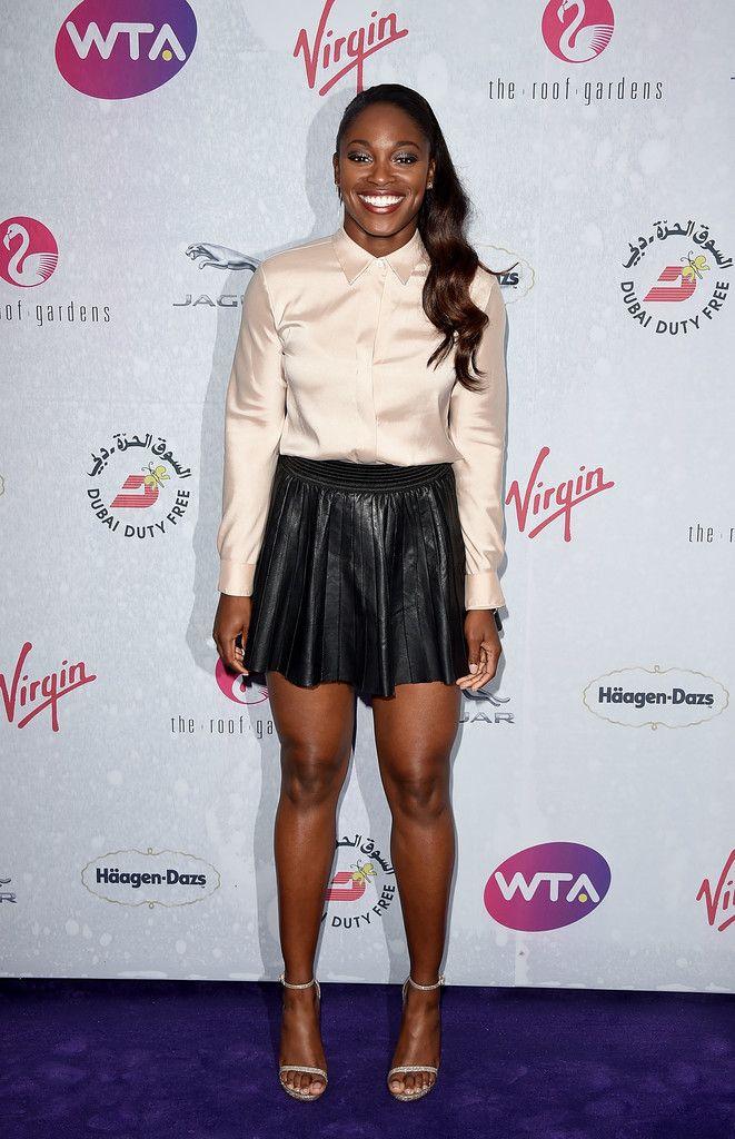 Sloane Stephens Mini Skirt - Mini Skirt Lookbook - StyleBistro