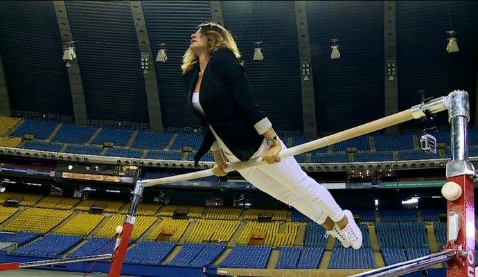 """La vara se implinesc 40 de ani de cand Nadia a reusit """"primul 10 din istorie"""", la Olimpiada de la Montreal. A vizitat de mai multe ori orasul canadian, insa nu a intrat niciodata in sala in care a reusit cea mai importanta performanta din istoria gimnasticii mondiale.  Jurnalistii brazilienii de l"""