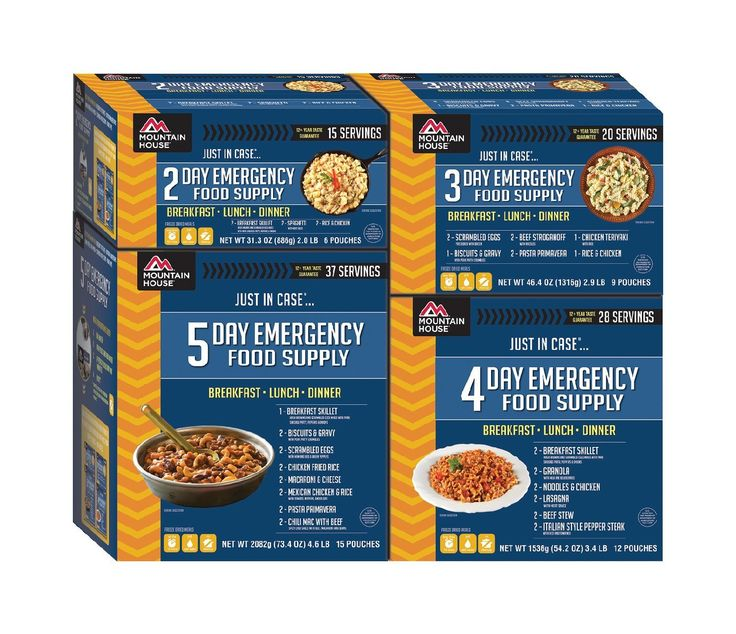 Mountain House 14 Day Emergency Food Supply -- Click image for more details.
