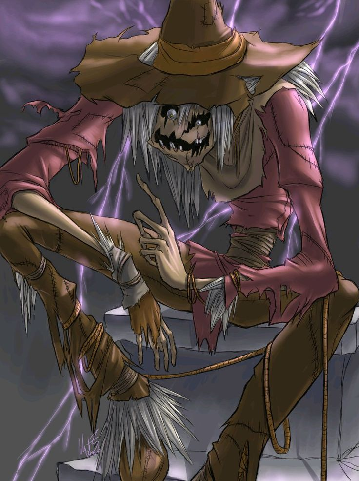 The Scarecrow becomes one of Batman's major foes, always exploiting his fear of bats. Description from greeneagle20.blogspot.com. I searched for this on bing.com/images