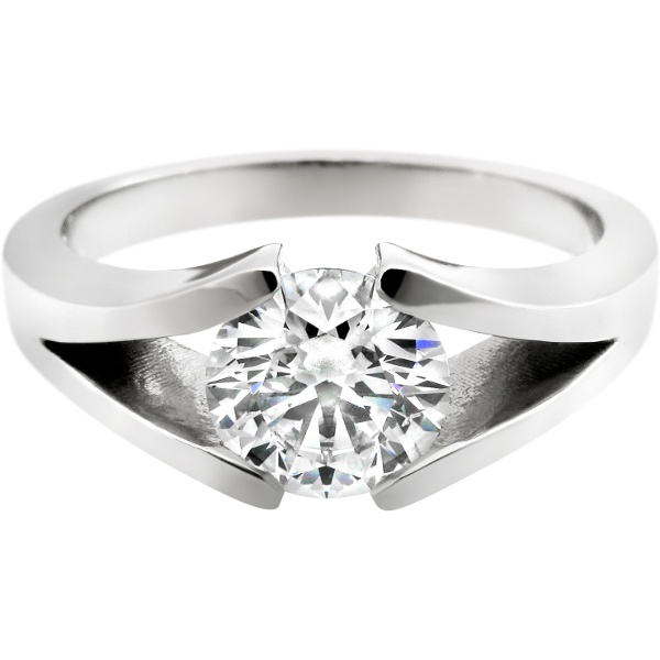 1000+ Images About Tension Setting Engagement Rings On Pinterest | Solitaire Engagement Rings ...