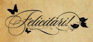 Felicitari!
