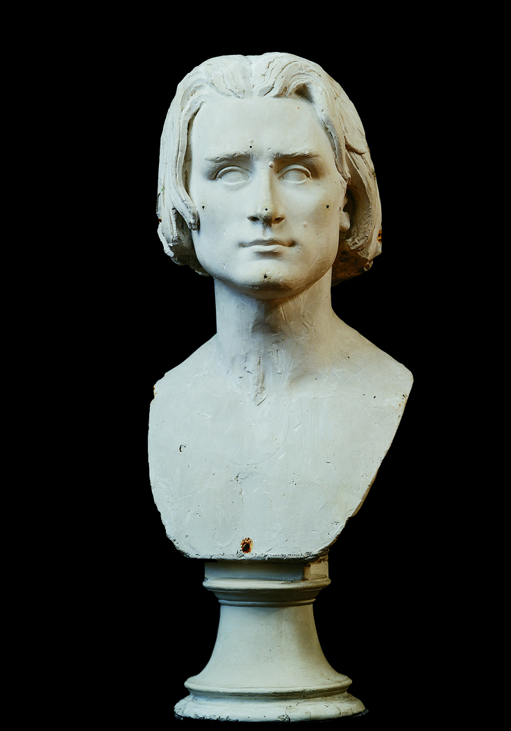Franz Liszt, Firenze, Galleria dell'Accademia