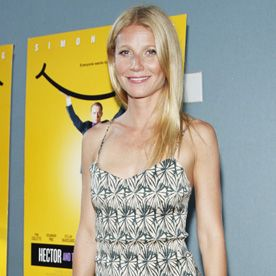 Gwyneth Paltrow Steps Out in an Eye Catching Midi-Dress for Hamptons Party  #InStyle