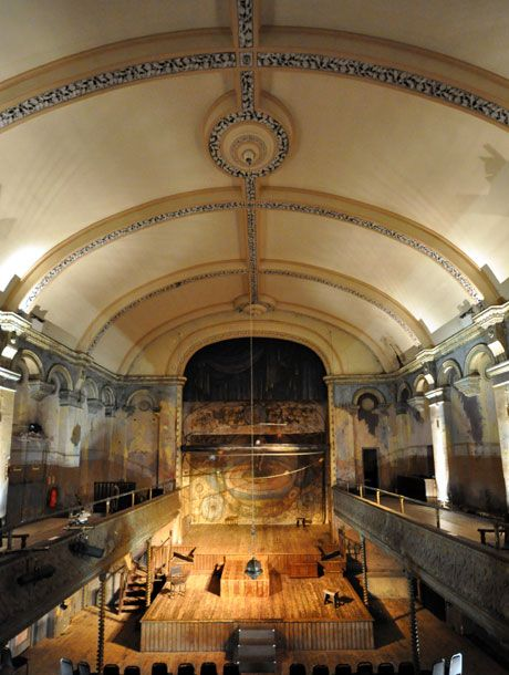 Wilton's Music Hall, Cable Street,  London, is the world's oldest surviving music hall, dates from the early 1700's