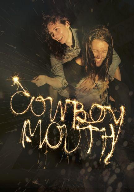 Cowboy Mouth promotional image Actors Theatre Collective 2016 Leah Baulch - Cavale Josh Futcher - Slim Graphic Design @cutrush