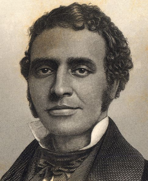 Black History, 8/16/2013 - Charles Lewis Reason was appointed professor of fine writing, Greek, Latin, and French and adjunct professor of mathematics at New York Central College in 1849, becoming the first African American professor at a predominantly white college.