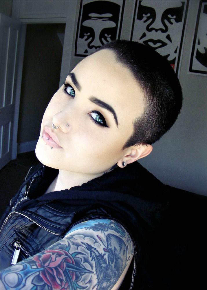 Short Hair Beauty — deathbysporkz:   Fuck love, give me fire.