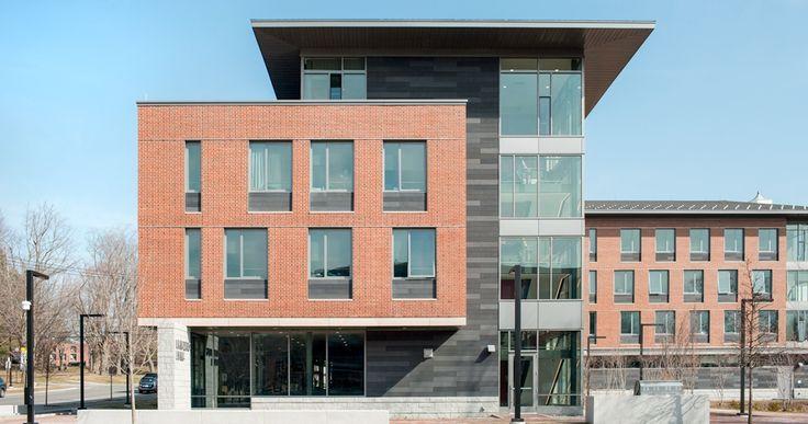 Bates College Dormitory TAKTL Graphite Facade Panels