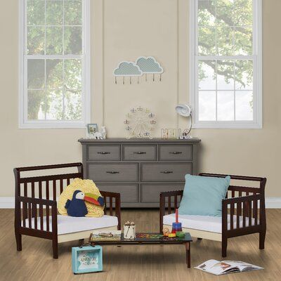 Viv + Rae Rubin Convertible Toddler Bed | Wayfair in 2020 ...