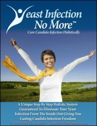 Yeast Infection No More is a downloadable e-book that contains information about the permanent cure for yeast infection. This is a holistic system which intends to help eradicate the infections by targeting the main cause.:http://www.squeezeframes.com/0/172/172636/87613.html
