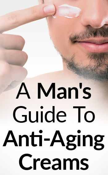 A Man's Guide To Anti-Aging Creams   Do Facial Lotions Fight Wrinkles & Signs Of Aging?