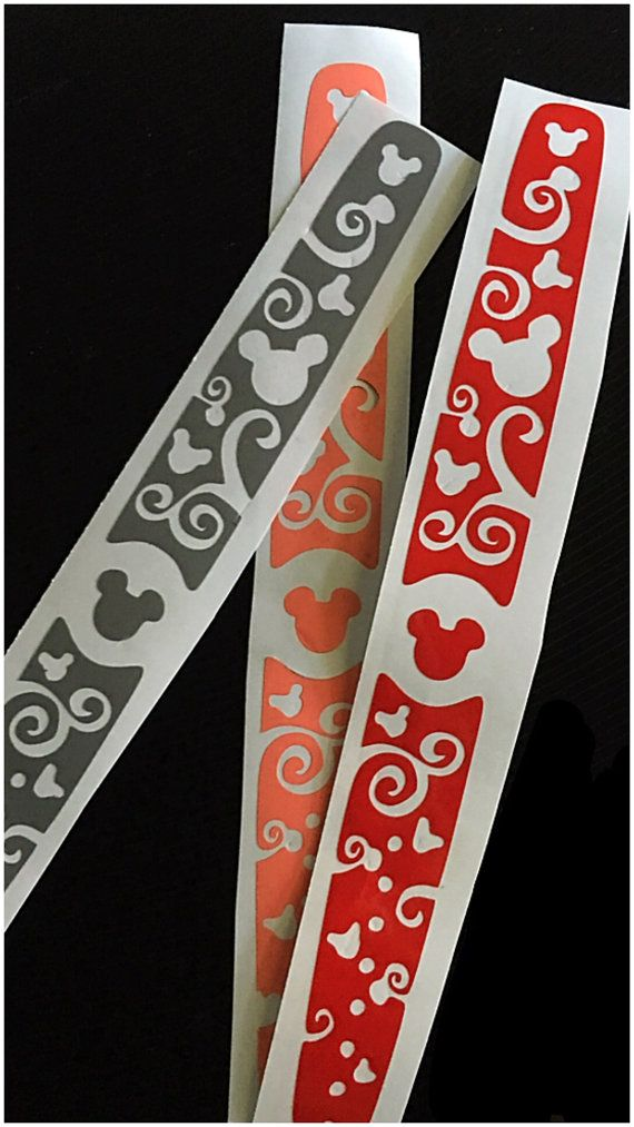 Disney Magic band decal by JJPetuniaDesigns on Etsy