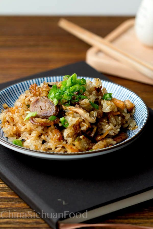 {Asian}Chinese Sticky Rice Recipes-savory and sweet versions