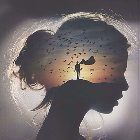Another double exposure Artwork by: @hightom_ Tag #ArtPostDaily to be featured!