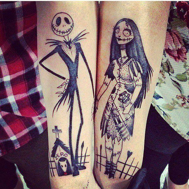 18 tatuagens de casal inspiradas na Disney | Casar é um barato