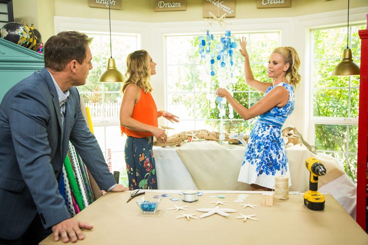 """Paige Hemmis is celebrating the return of Hallmark Channel's Original Series, """"Chesapeake Shores,"""" with this DIY."""