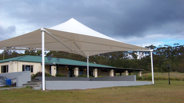 Shade Structure for new Golf Club