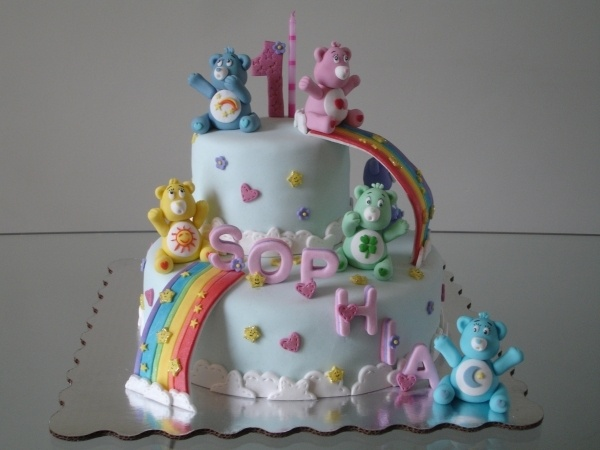 Would it be weird to want this as my next bday cake!?  I loved care bears!!