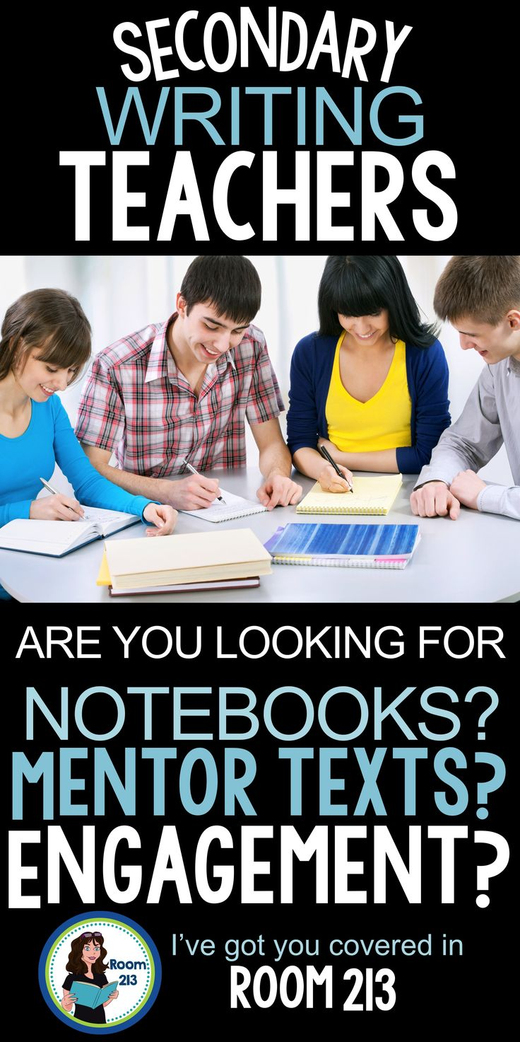 Are you looking for engaging and meaningful writing activities? Need some mentor texts? A good writer's notebook for older students? Come on over to Room 213!
