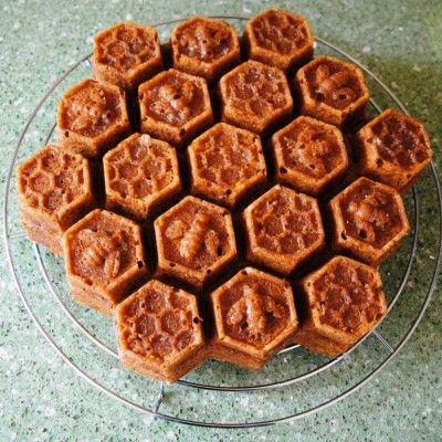 Honing-citroencake