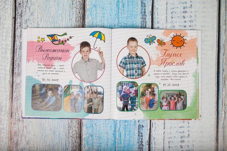 Выпускные фотокниги для детского сада — OkeyBook | Фотокниги на любой случай