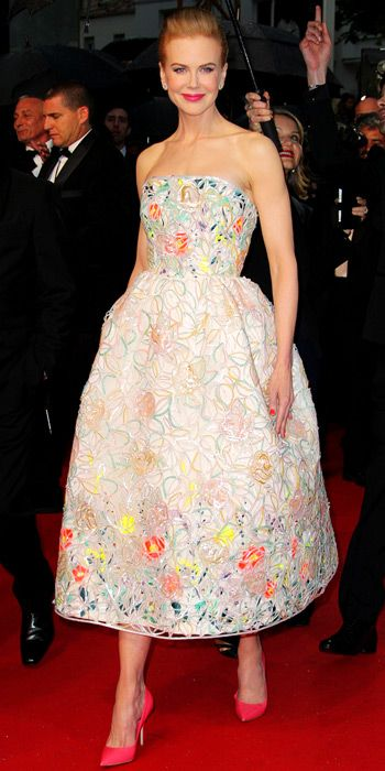 Nicole Kidman in Christian Dior Couture.