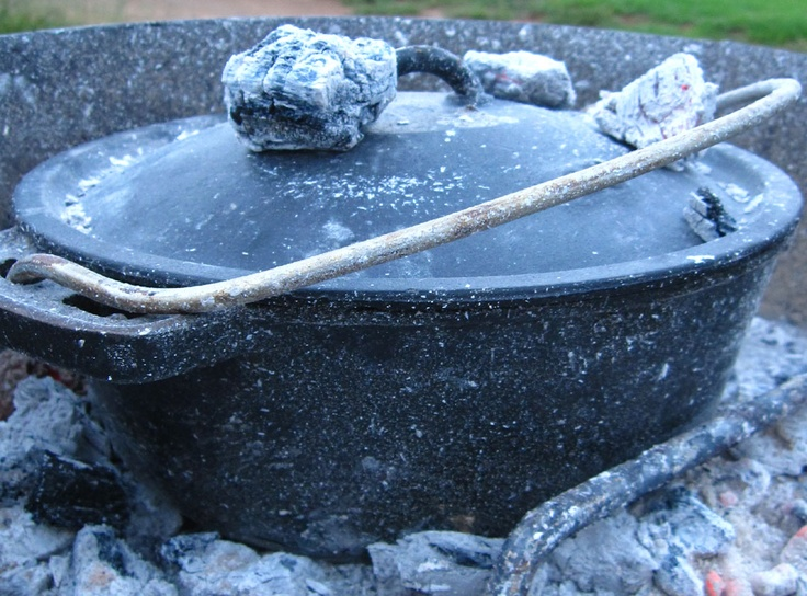 Potjiekos (stew cooked over the fire)