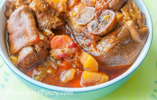 Slow Cook Pork Hock Stew or Slow Cooked Pata is something that I look forward to during weekends, especially on chilly days.