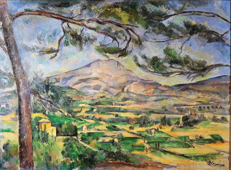 Mountain Sainte-Victoire, Paul Cézanne, 1885-1887