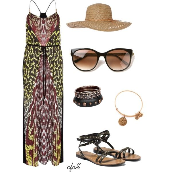 """""""walk on the beach."""" by thesunshinecorner on Polyvore"""