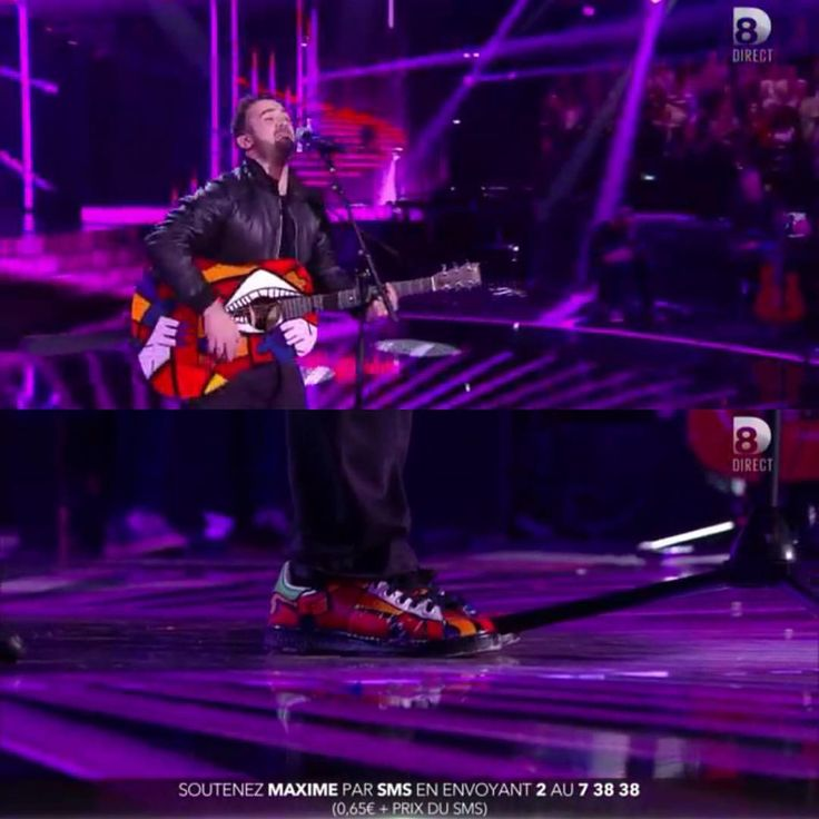"""35 mentions J'aime, 1 commentaires - Elvira Alves (@red_dito_art) sur Instagram: """"Maxime @usapenmax singer of Nouvelle Star French TV show on D8 Channel ! Vote 2! Congratulations…"""""""