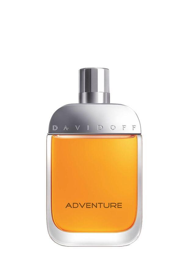 Parfums Davidoff Adventure Homme. Le frisson du défi. Découvrez vos limites et dépassez-les. Fraîcheur de mandarine, citron et bergamote.