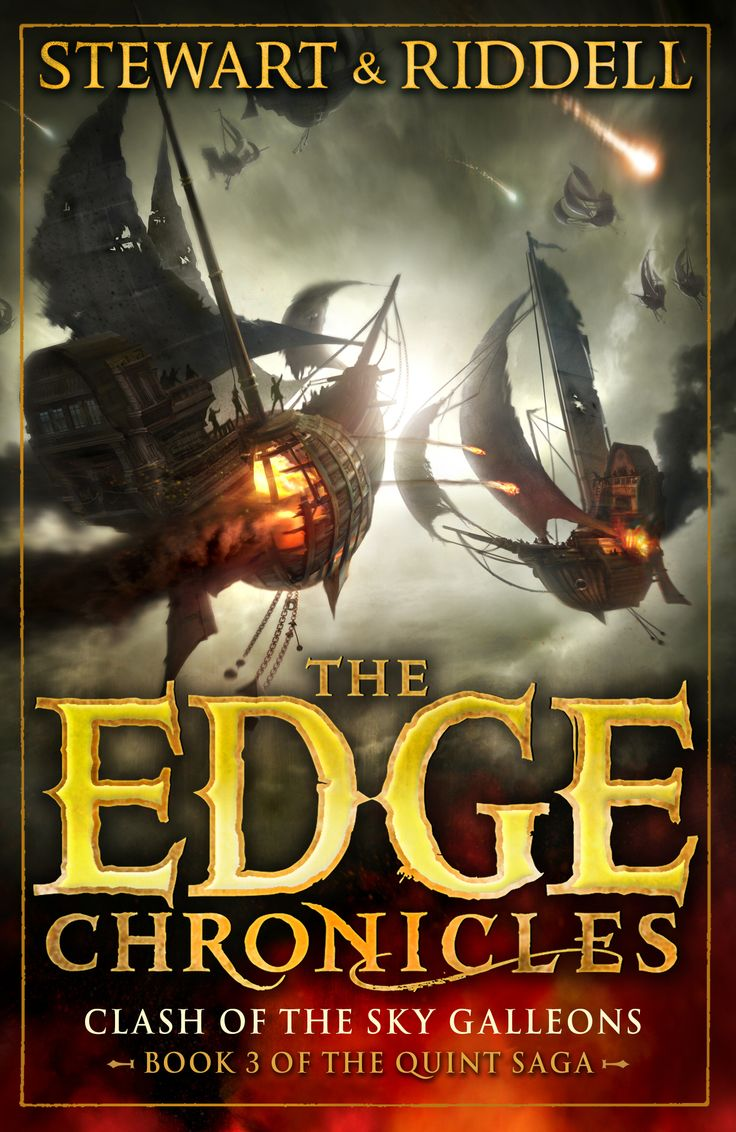 Find This Pin And More On The Edge Chronicles Book Covers