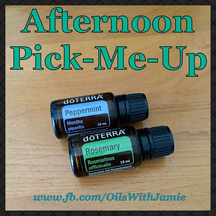 Need an Afternoon Pick-Me-Up? Mix in your hand, rub your palms together, and…