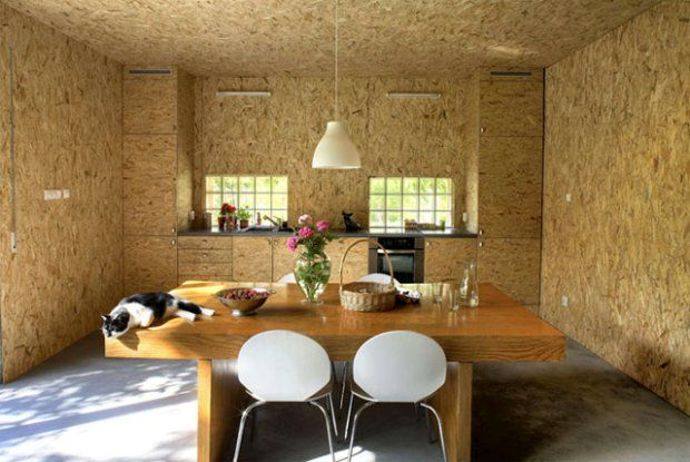 Particle board amazing effect