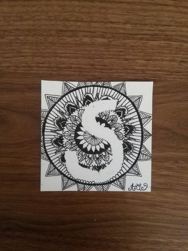 #ByMyHand  I have made this mandala for my aunt Svetlana. When you draw a mandala for someone and you should think on him or her, they will be happy and healthy.
