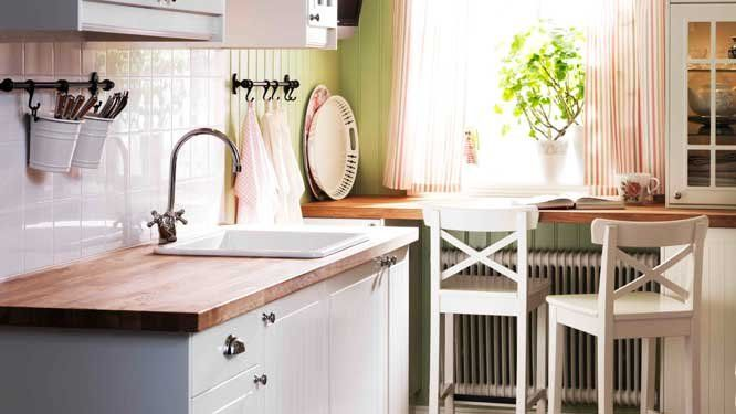J 39 aime cette photo sur et vous cuisine ikea - Cuisine ikea blanche et bois ...